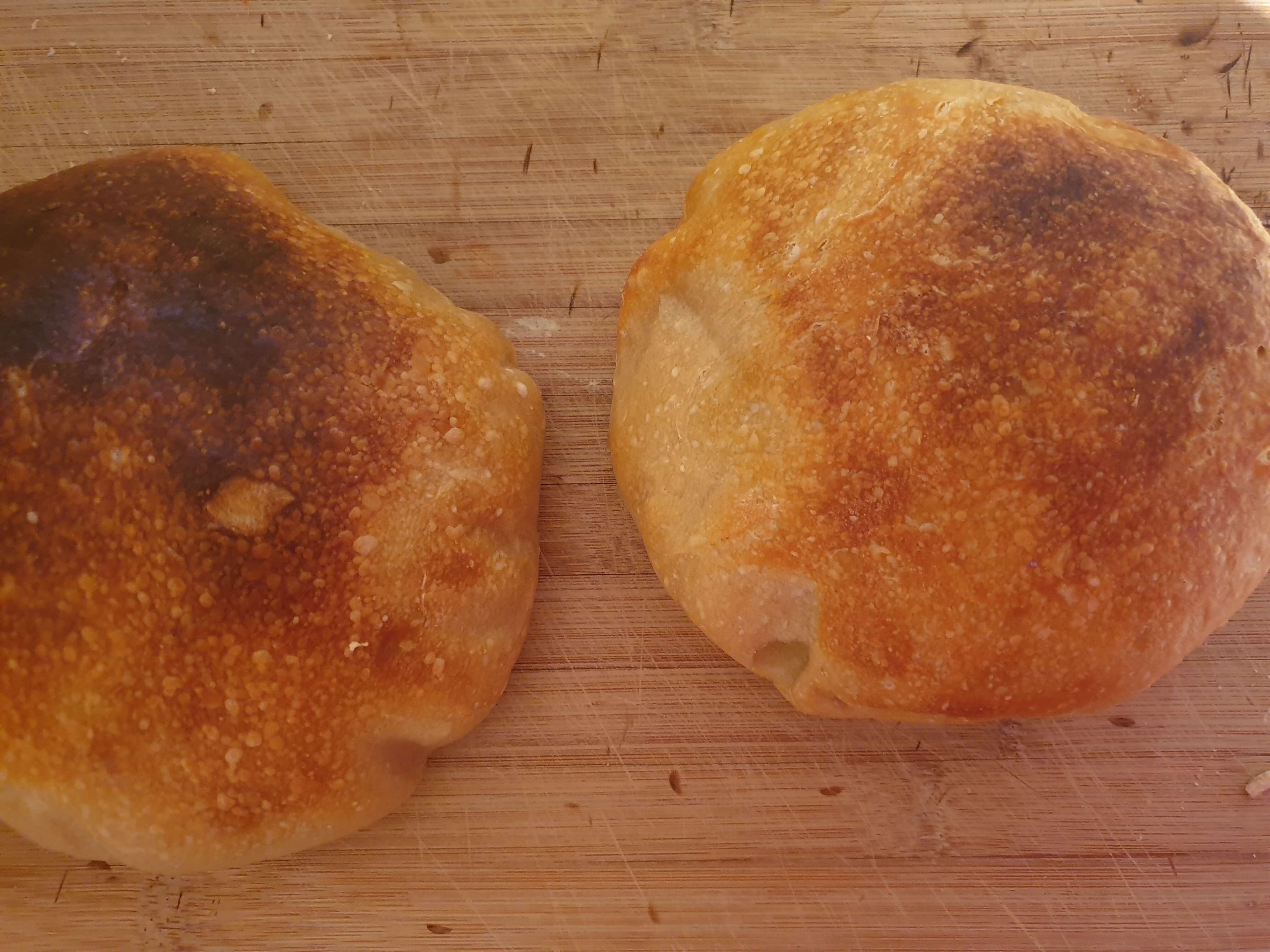 picture of cooked sourdough